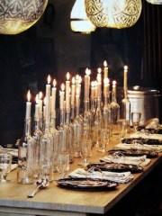 liquor bottle candles